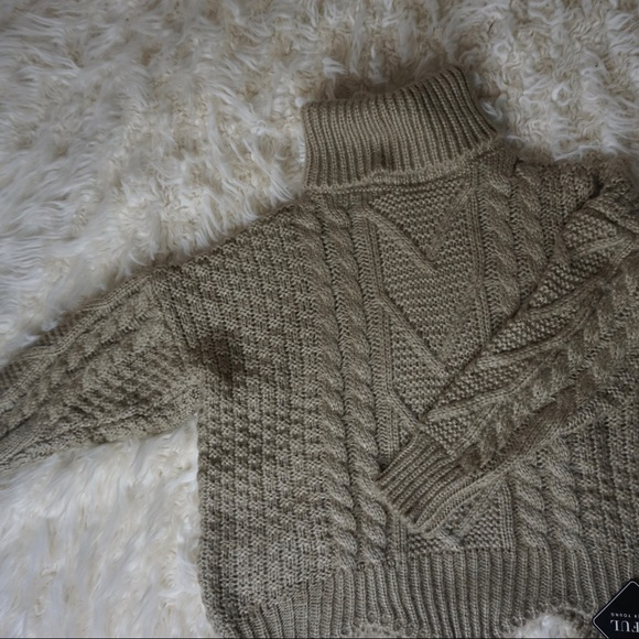Zaful Sweaters - Turtle Neck Sweater